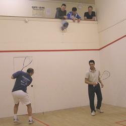 Barnes Squash Club Action
